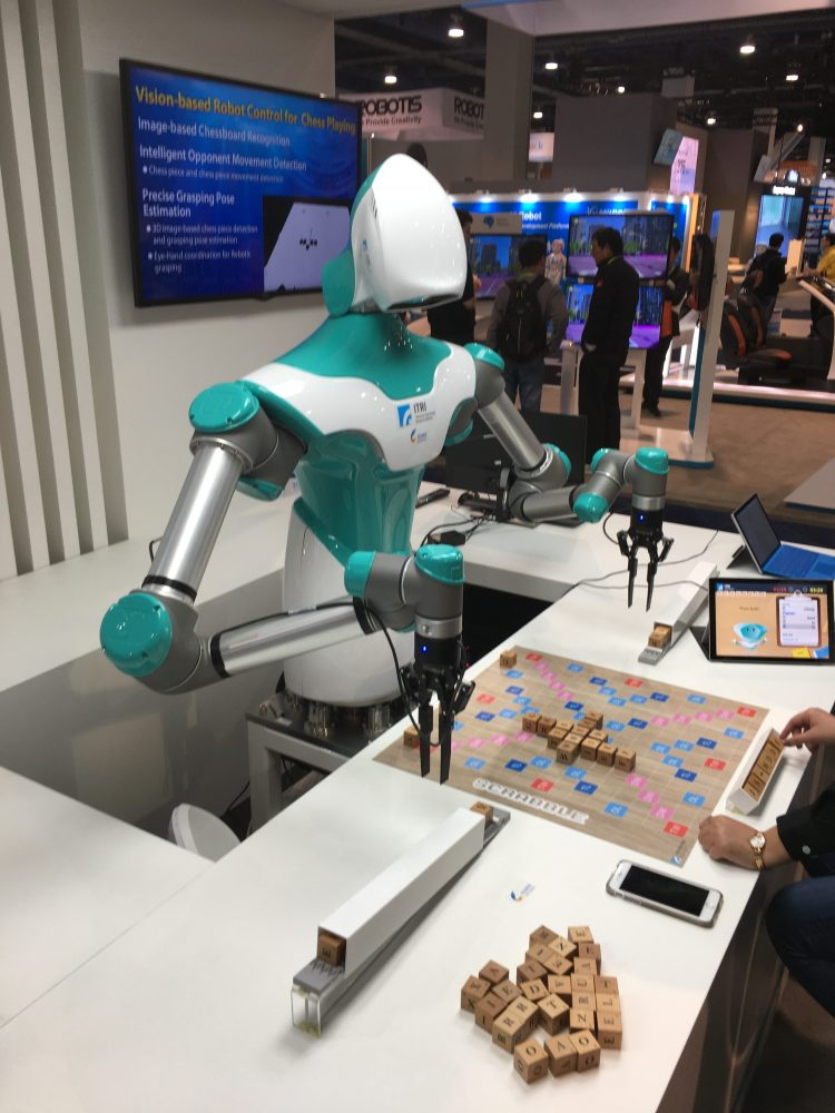 CES and Robots